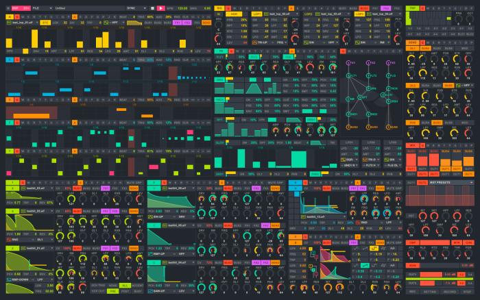 2020 semi modular beat-machine