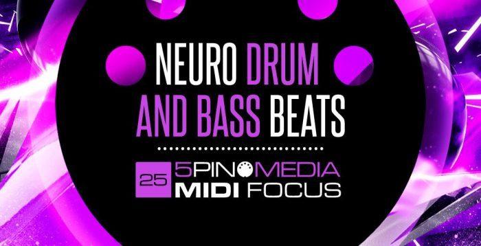 5Pin Media Neuro Drum & Bass Beats