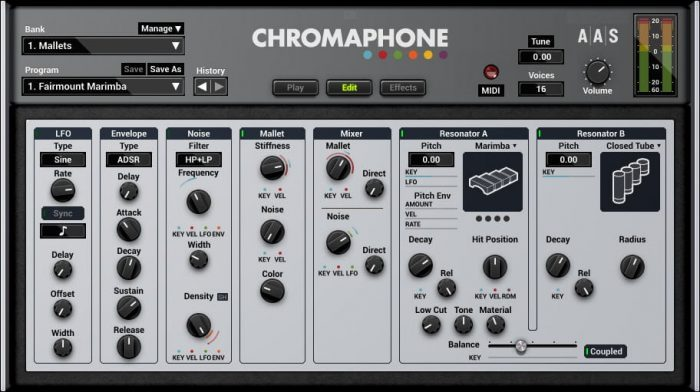 AAS Chromaphone 2 edit