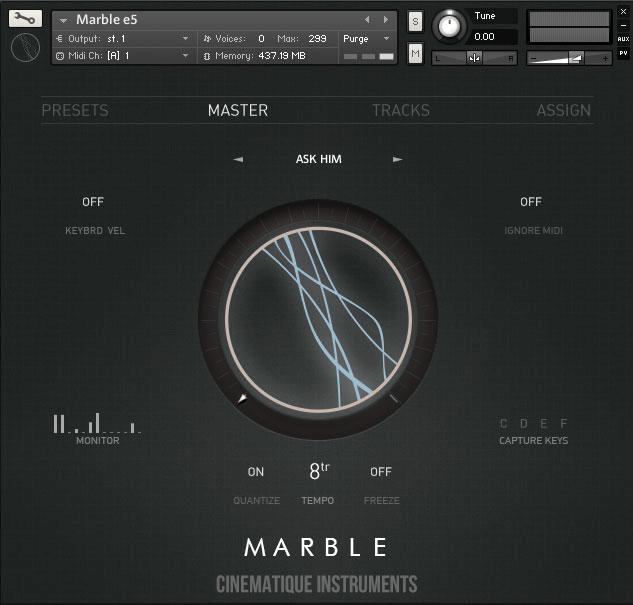 Cinematique Instruments Marble