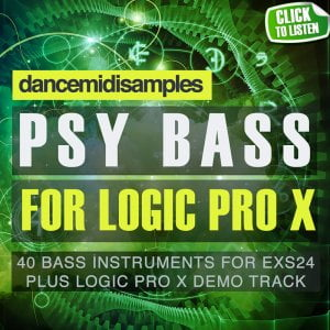 DMS Psytrance Bass For Logic Pro X