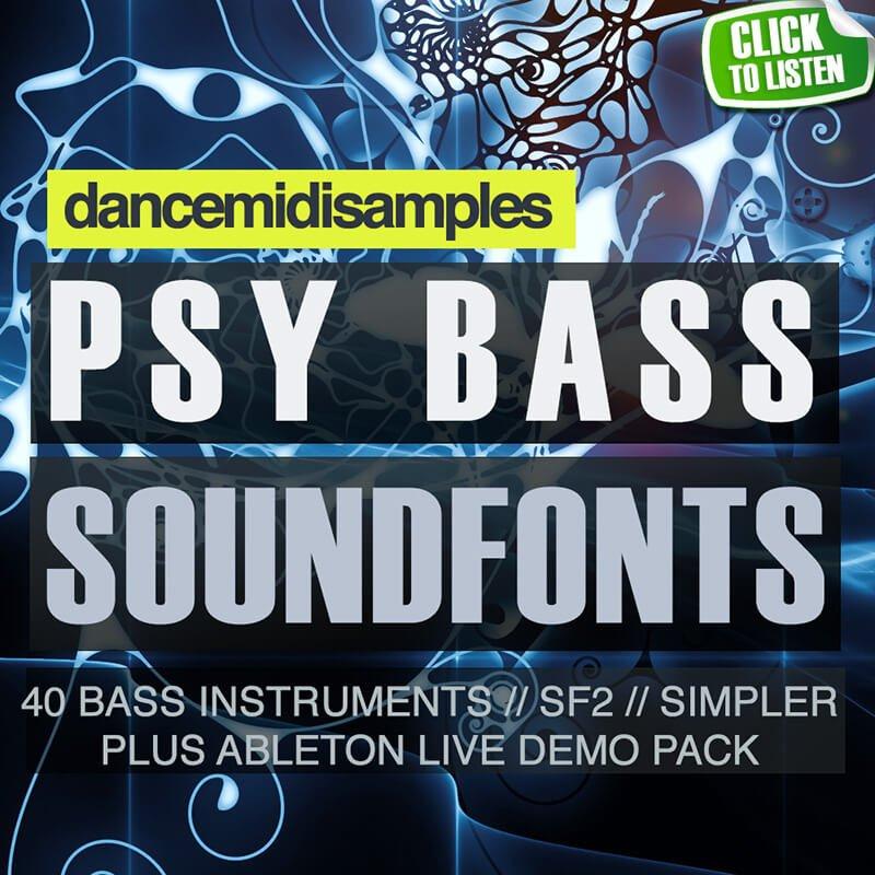 Dance MIDI Samples releases 3 Psytrance sample packs