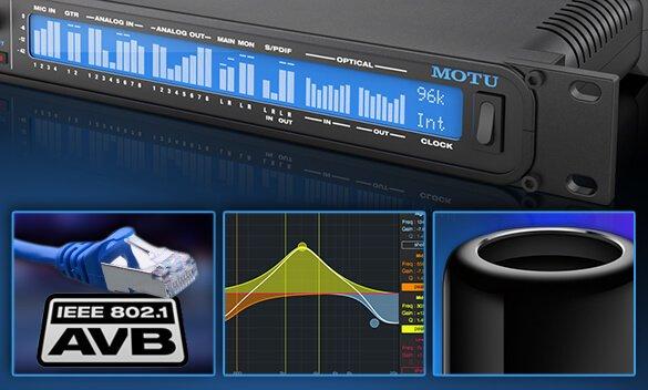 MOTU Firmware update