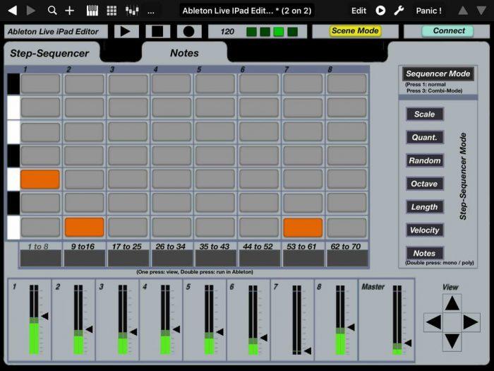 Momo Ableton Live iPad Editor 2