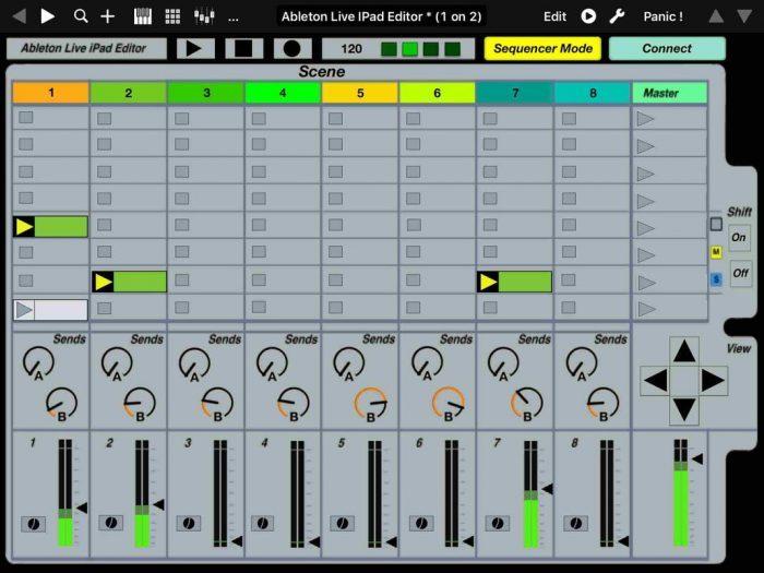 Momo Ableton Live iPad Editor