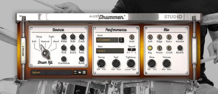 Propellerhead A-List Drummer Studio