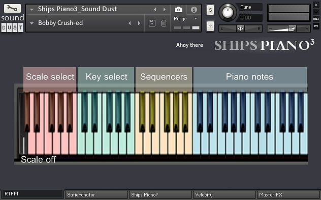 Sound Dust Ships Piano3 rtfm