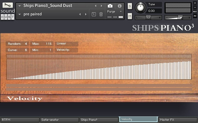 Sound Dust Ships Piano3 velocity