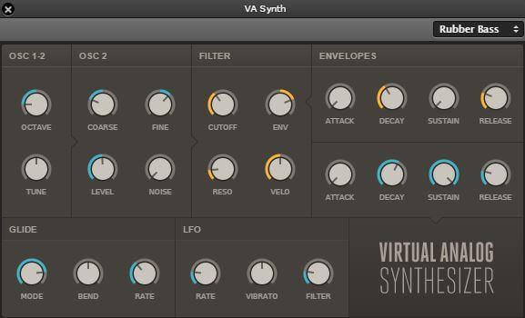Soundation Studio Chrome VA Synth