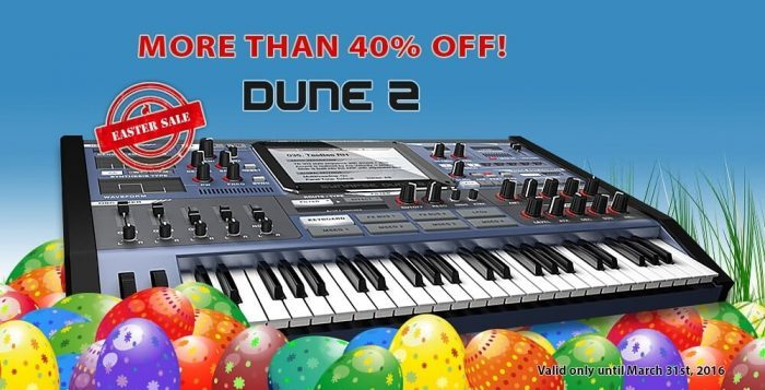 Synapse Audio Easter Sale