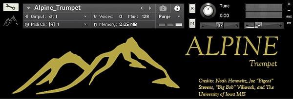 The Alpine Project Trumpet