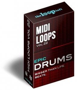The Loop Loft Epic Drums Vol 2