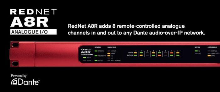 Focusrite RedNet A8R feat
