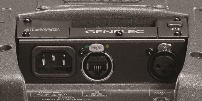 Genelec 8430A rear