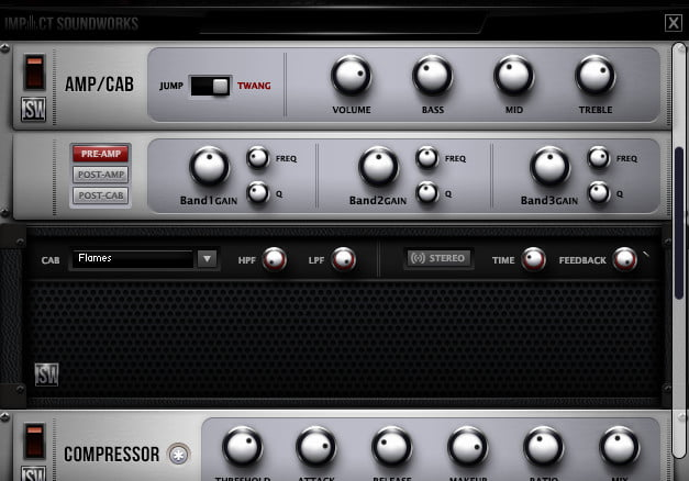 Impact Soundworks Shreddage 2 SRP effects