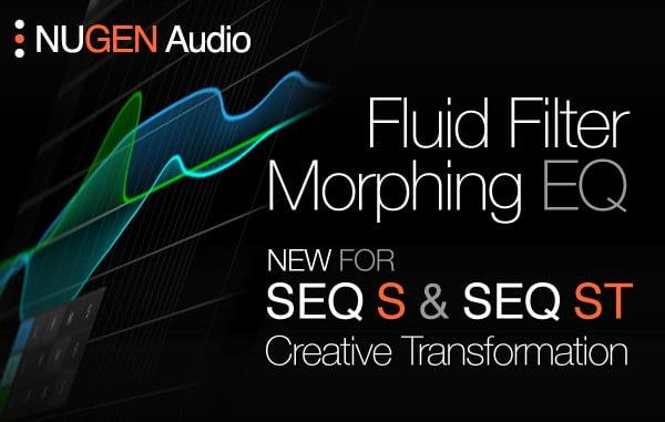 Nugen Audio Fluid Filter Morphing EQ