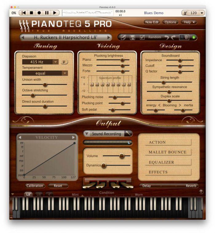 Pianoteq Ruckers II Harpsichord