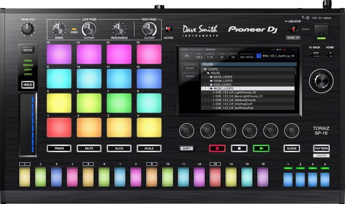Pioneer DJ TORAIZ SP-16 browse