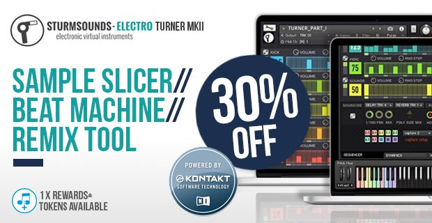 Plugin Boutique Sturm Sounds Electro Turner MK 2