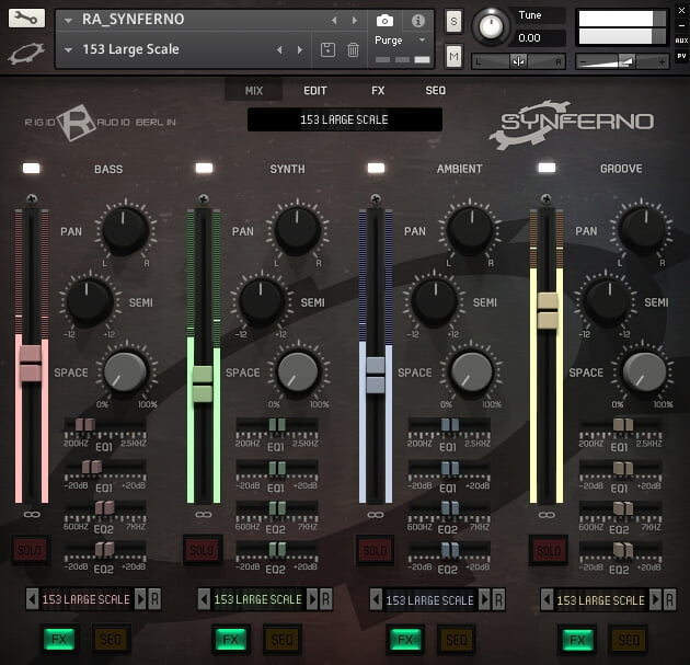 Rigid Audio Synferno