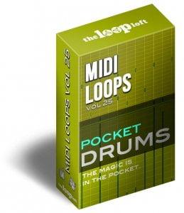 The Loop Loft Pocket Drums