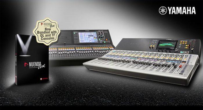Yamaha Steinberg Nuendo Live Bundle Rebate