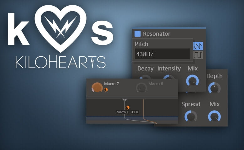 kiloHearts plugin updates