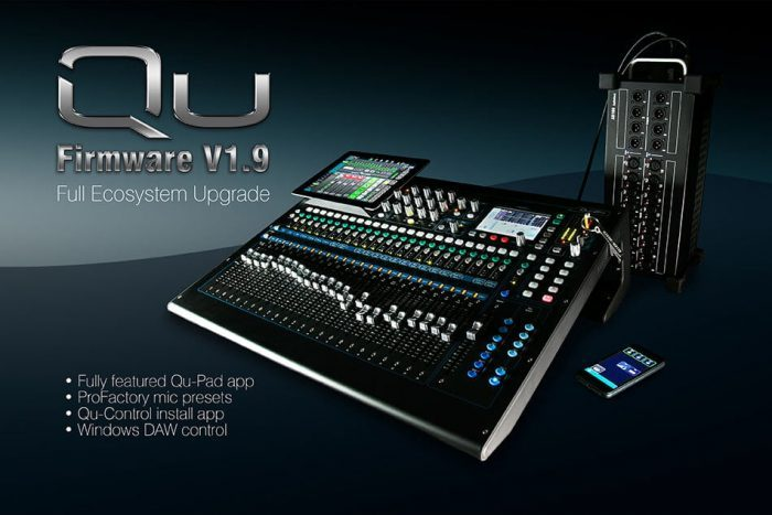 Allen & Heath Qu Series v1.9 update