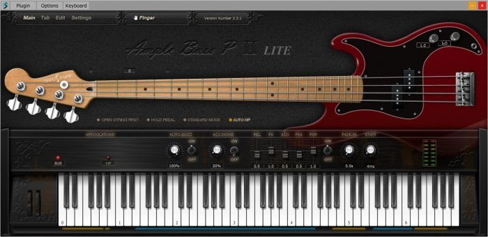 Ample Sound Ample Bass P Lite II (ABPL)