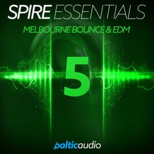 Baltic Audio Melbourne Bounce & EDM for Spire