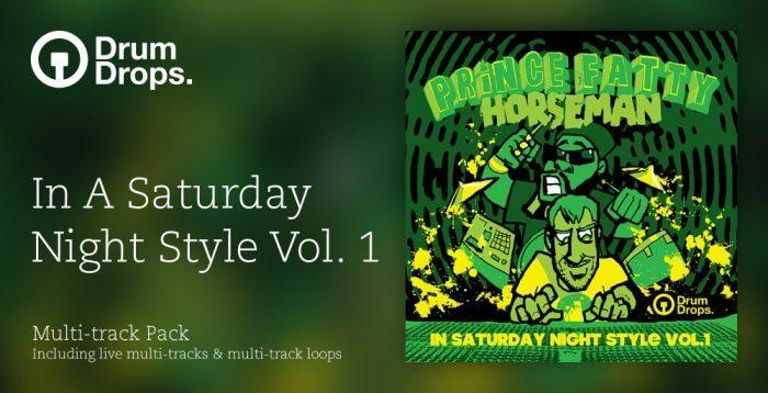 DrumDrops In Saturday Night Style Volume 1 - Multi Track Version