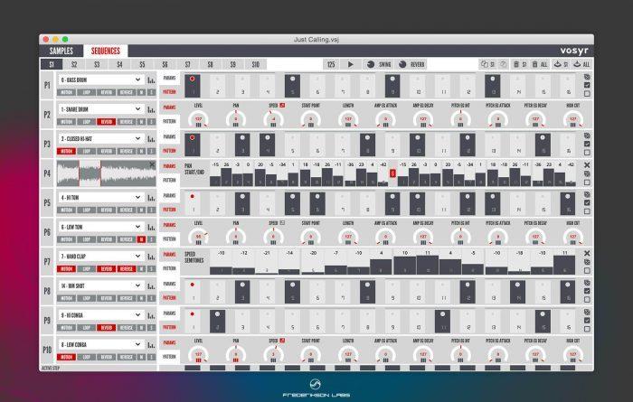 Frederikson Labs vosyr volca sample manager v2.5