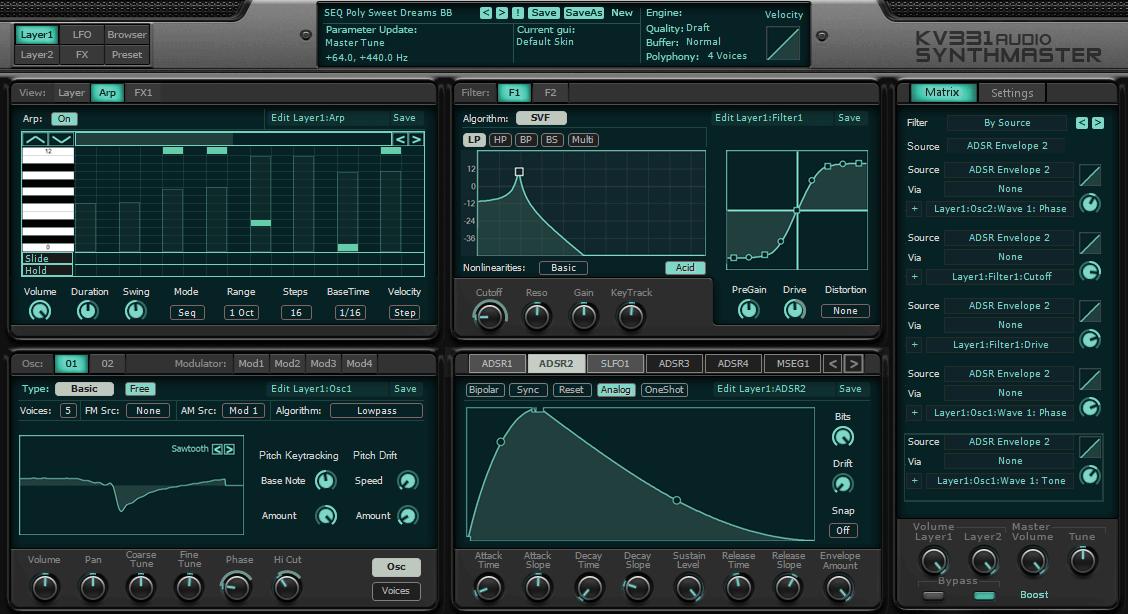 KV331 Audio SynthMaster