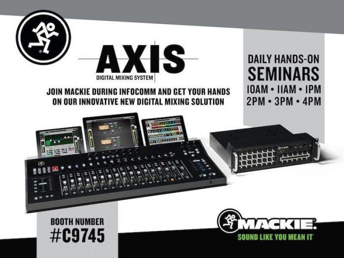 Mackie AXIS InfoComm 2016