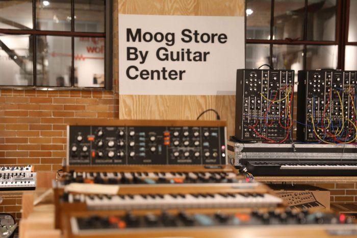 Moog Store by Guitar Center