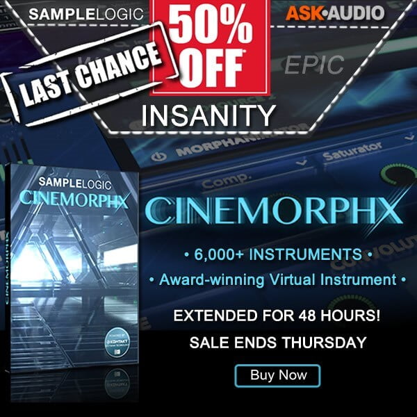 Sample Logic Cinemorphx sale extended