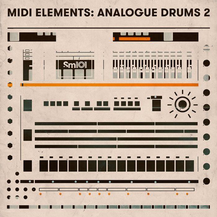 Sample Magic MIDI Elements Analogue Drums 2