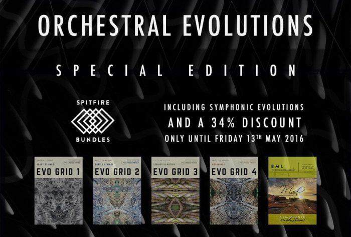 Spitfire Audio Orchestral Evolutions Bundle deal