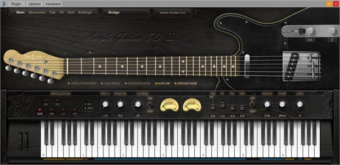 Ample Sound Ample Guitar TCII