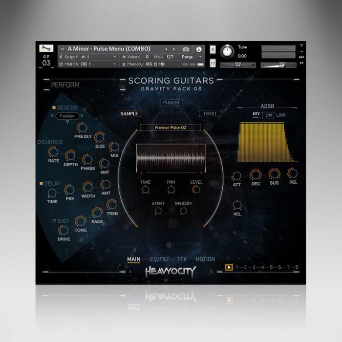Heavyocity GP03 Scoring Guitars sample