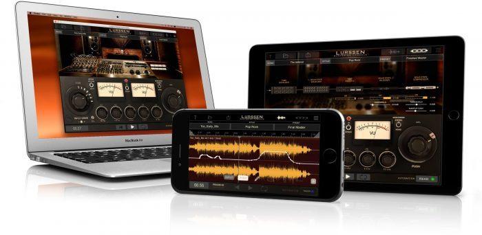 IK Multimedia Lurssen Mastering Console iPhone