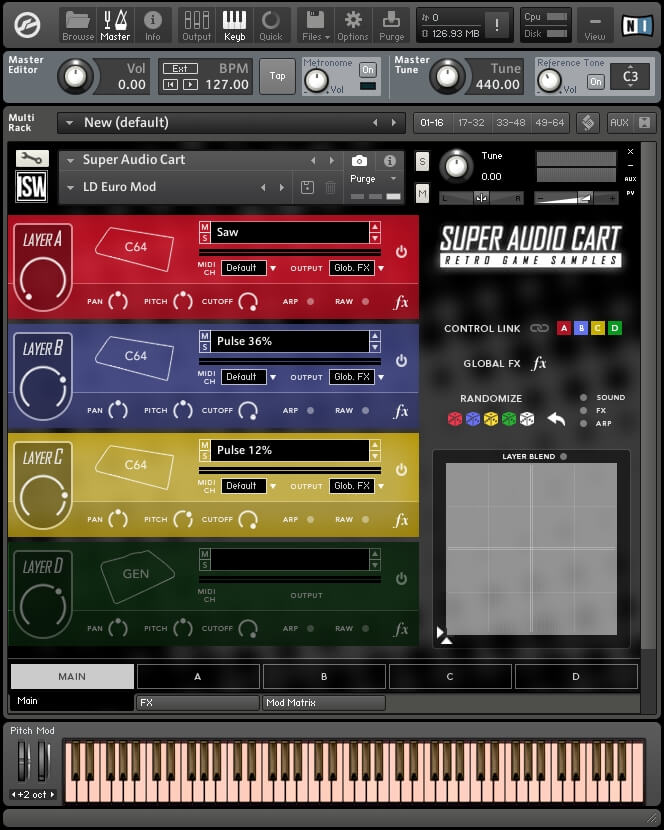 Impact Soundworks Super Audio Cart