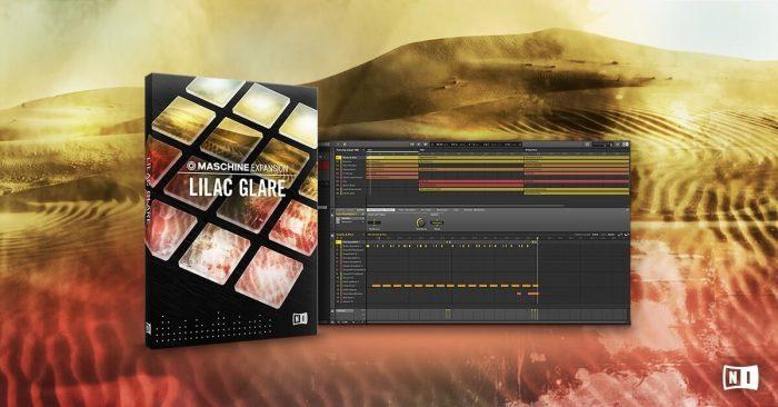 NI Lilac Glare Maschine Expansion