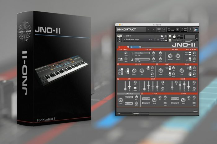 Particle Sound JNO II Box + Interface 2