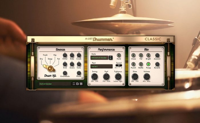 Propellerhead A-List Classic Drummer
