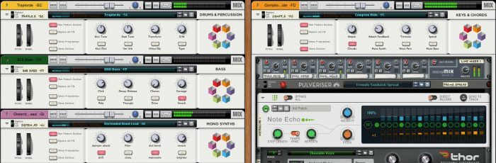 Propellerhead Reason 9 new sounds
