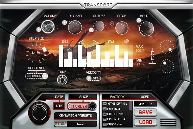 Refraction Audio Transport 02