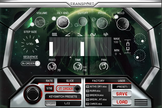 Refraction Audio Transport 04
