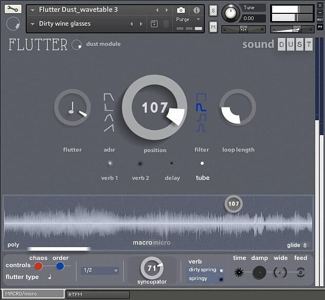 Sound Dust Flutter Dust Module