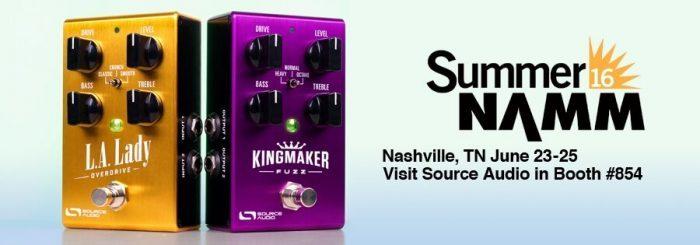 Source Audio Summer NAMM